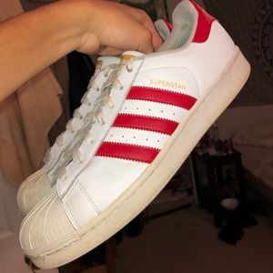 Adidas Classic Shelltoe red